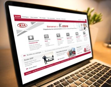 Portail web KIA