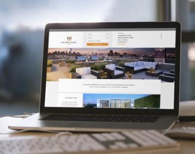 Webdesign d'un thème hotellier